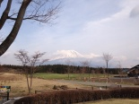 道の駅からの富士山