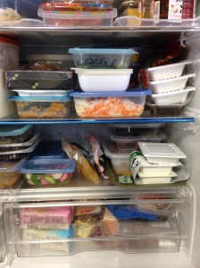 満員の冷蔵庫