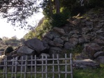 石垣山の石垣